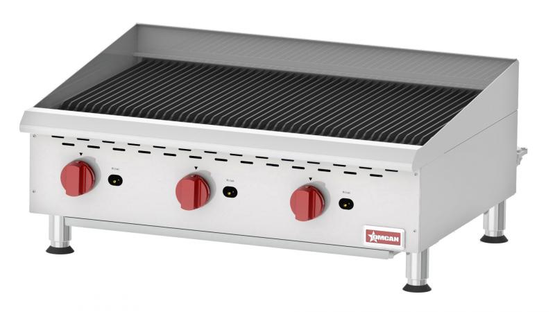 Omcan CE-CN-CBR36 food equipment > cooking equipment > countertop gas char-broiler