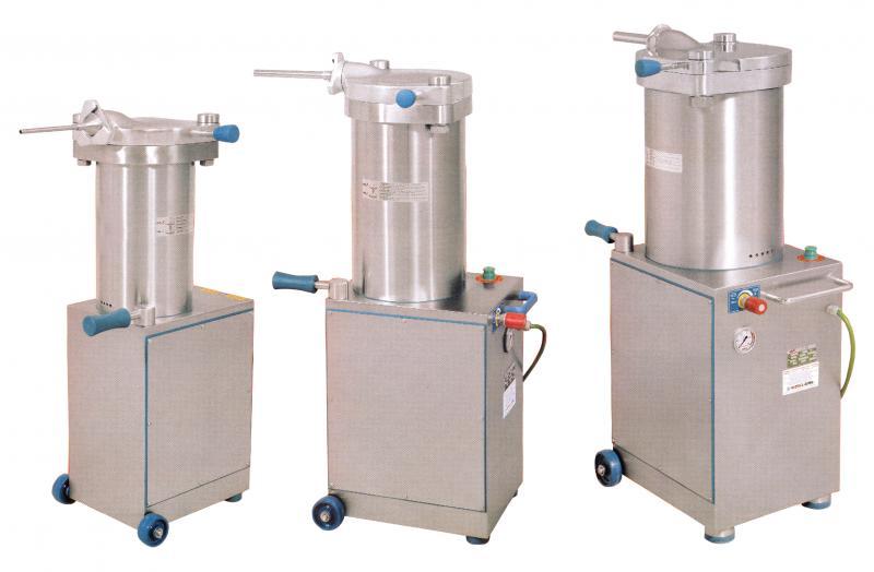 Omcan SSES0015PA food equipment|food equipment > sausage stuffers > hydraulic stuffers|food equipment > sausage stuffers