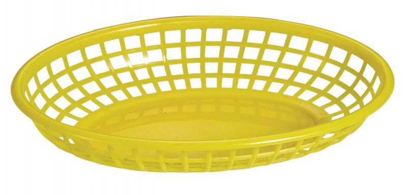 Omcan 80361 smallwares > dining solutions > plastic oval baskets