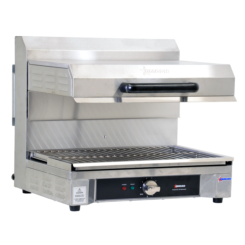 Omcan CECN0580S food equipment > cooking equipment > salamander broilers and cheese melters
