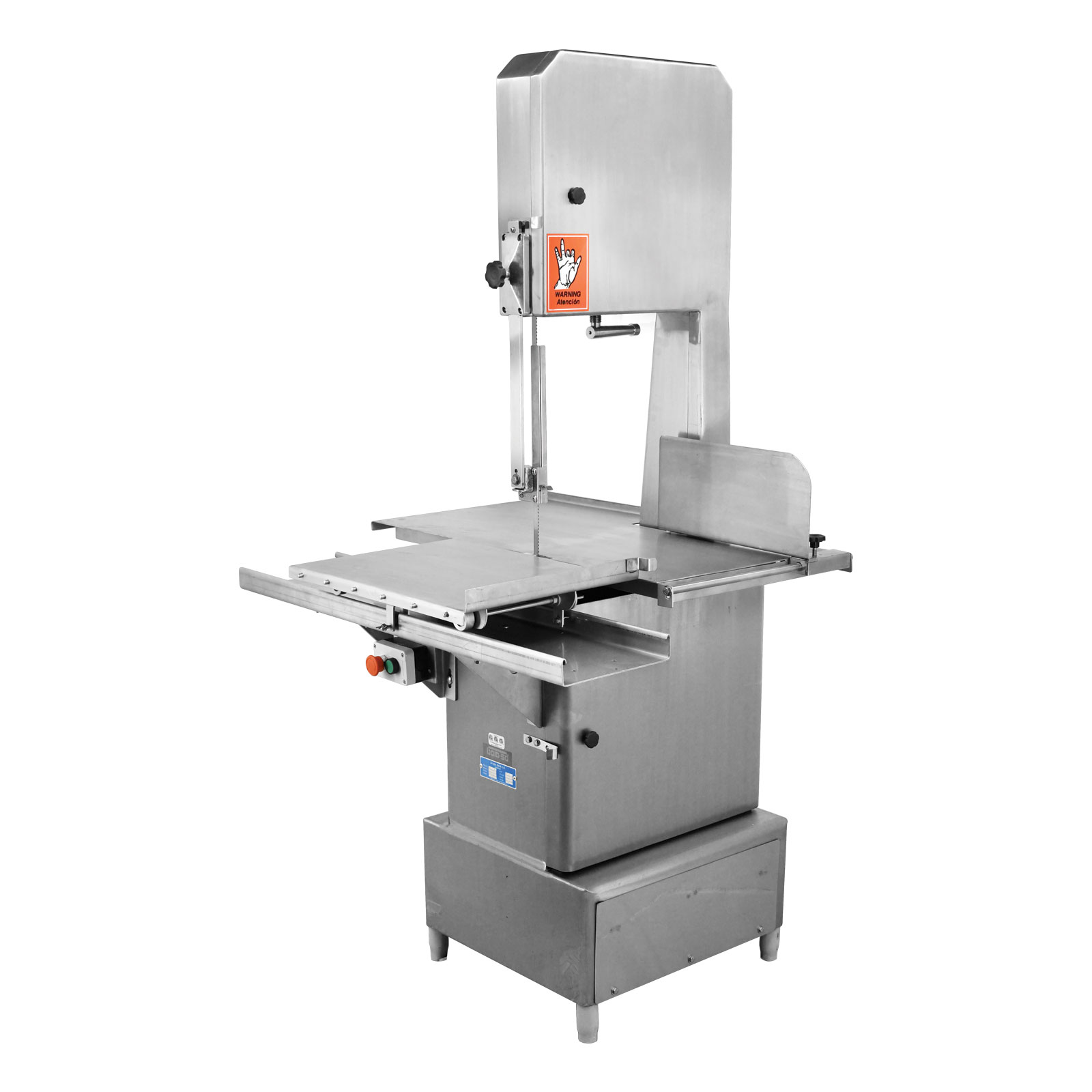 Omcan BS-VE-3200-SS food equipment > band saws and blades > floor band saws