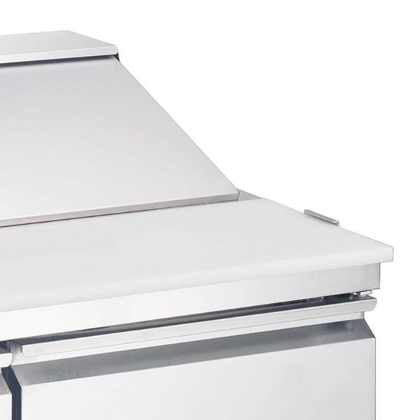 Omcan PT-CN-1778-HC refrigeration > refrigerated prep tables|refrigeration > refrigerated prep tables > refrigerated salad/sandwich prep tables|refrigeration