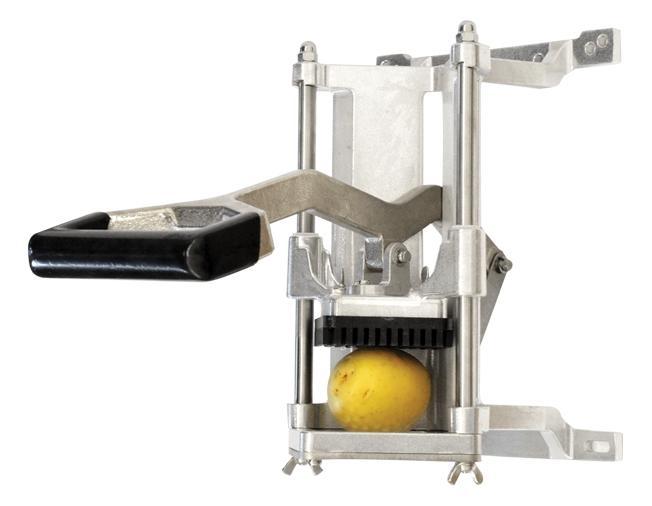 Omcan 41857 wall-mounted vertical potato fry cutters