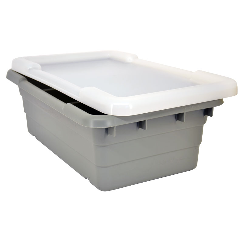 Omcan 10936 smallwares > restaurant essential > meat lug tote boxes