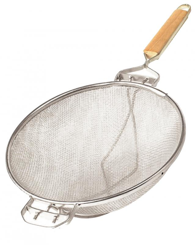 Omcan 80366 smallwares > mesh and strainers > reinforced double mesh strainers
