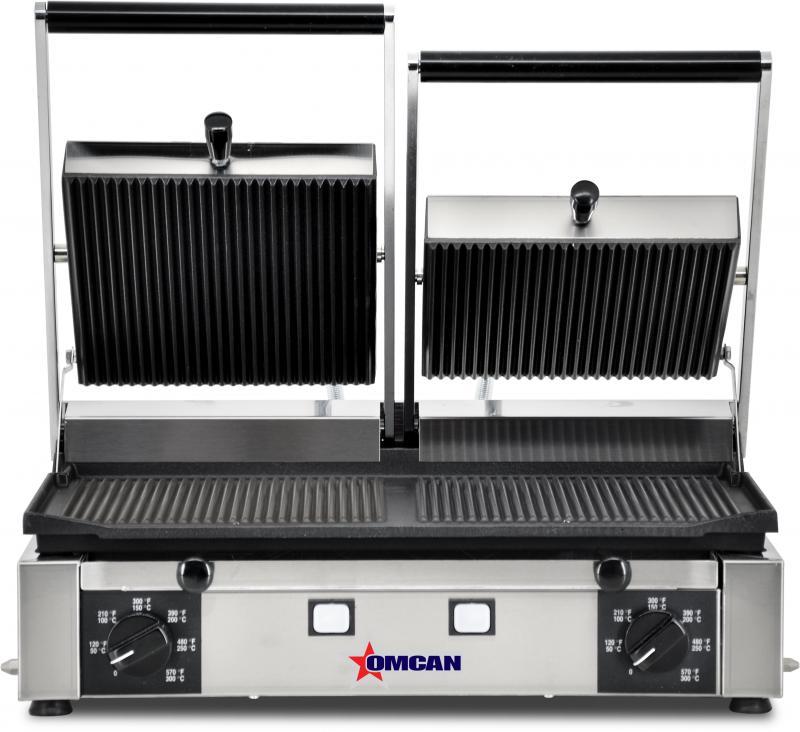 Omcan PG-IT-0737-R food equipment > cooking equipment > sandwich grills