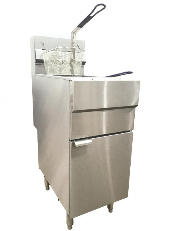 Omcan CE-CN-0025-FN food equipment > cooking equipment > fryers-gas floor