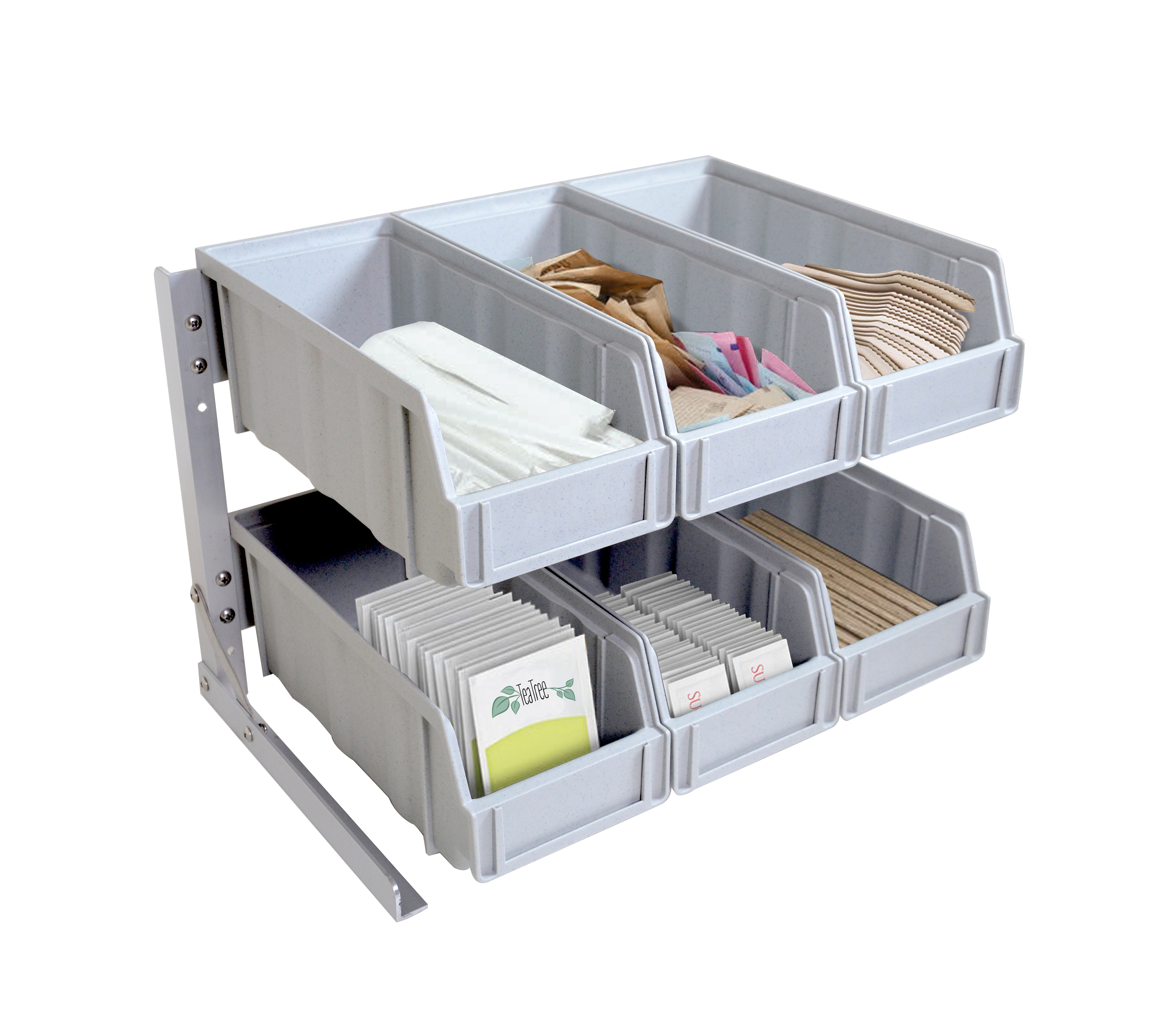 Omcan 43642 customer convenience > plastic condiment organizer