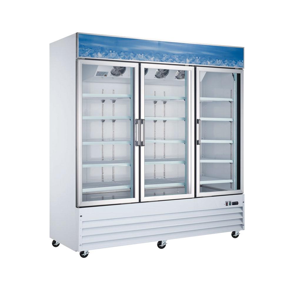 Omcan RE-CN-0052-HC refrigeration > glass door refrigeration|refrigeration > glass door refrigeration > glass door refrigerators|refrigeration