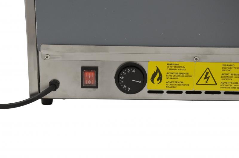 Omcan FW-CN-0066-C merchandising > hot food merchandisers > heated display case