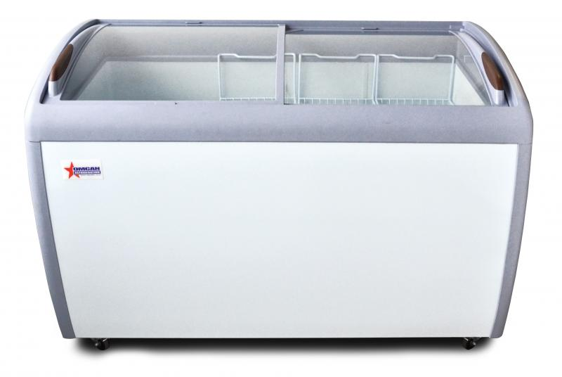 Omcan FRCN1245 display chest freezers