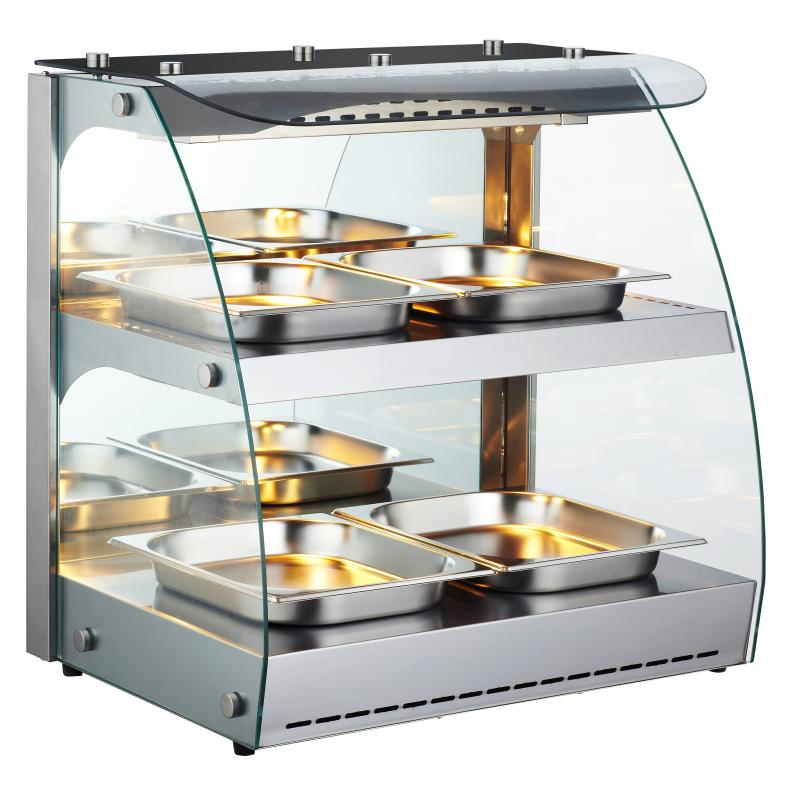 Omcan FW-CN-0100-C heated display case