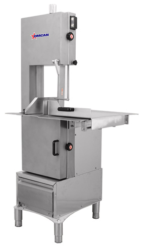 Omcan BS-CN-2020 featured products|food equipment > band saws and blades > table top band saws