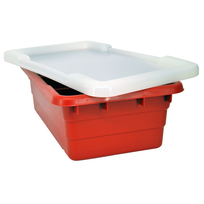 Omcan 10938 smallwares > restaurant essential > meat lug tote boxes