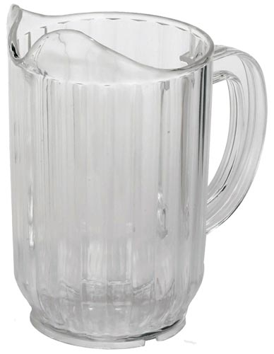 Omcan 80088 smallwares > dining solutions > beverage service > pitchers > water pitchers