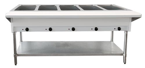 Omcan FW-CN-0005-FH merchandising > hot food merchandisers > electric steam tables