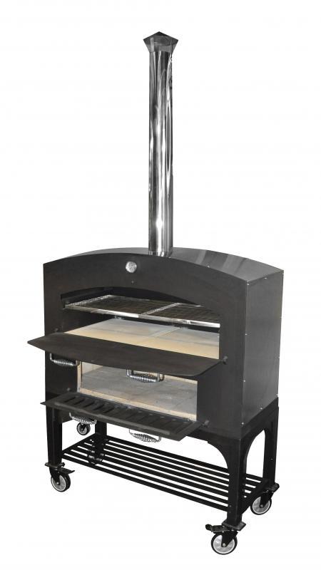 Omcan CECN1677 food equipment > outdoor cooking equipment > wood burning oven