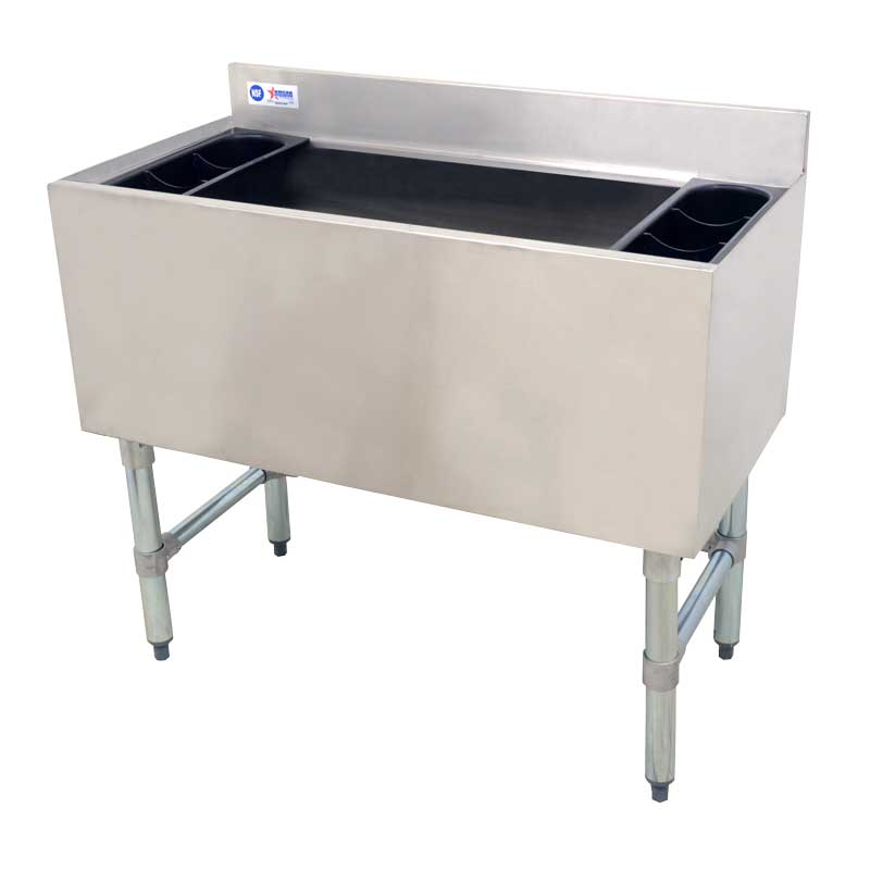 Omcan 43476 ice bins and accessories