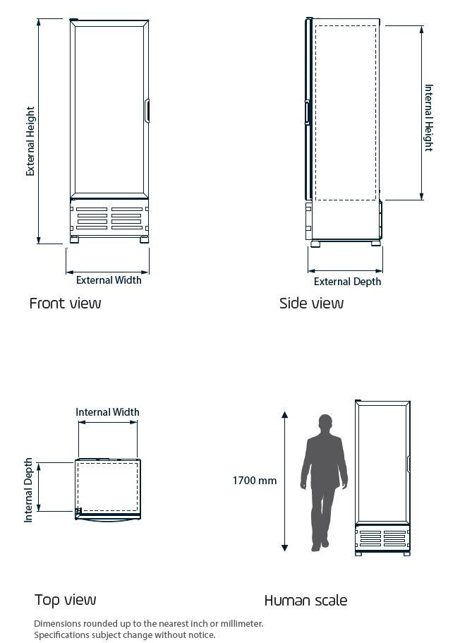 Omcan G319 HC refrigeration > imbera refrigeration|refrigeration > imbera refrigeration > imbera refrigerators