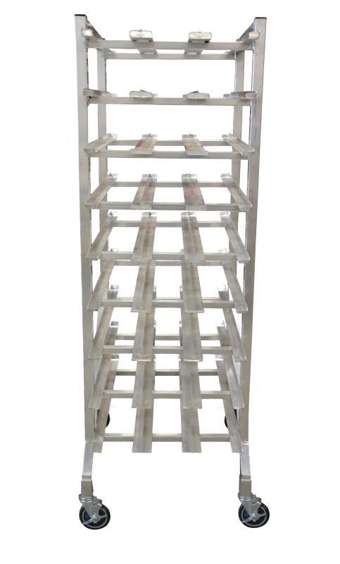Omcan 27769 handling and storage > racks and shelves > can racks