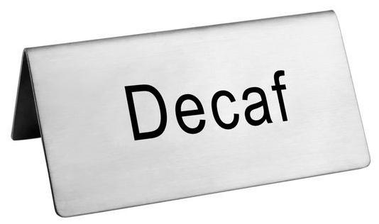 Omcan 80138 customer convenience > labels and signs > beverage tent signs