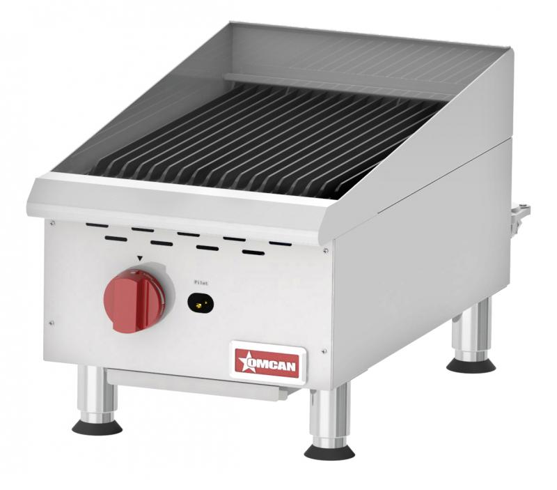 Omcan CE-CN-CBR15 food equipment > cooking equipment > countertop gas char-broiler