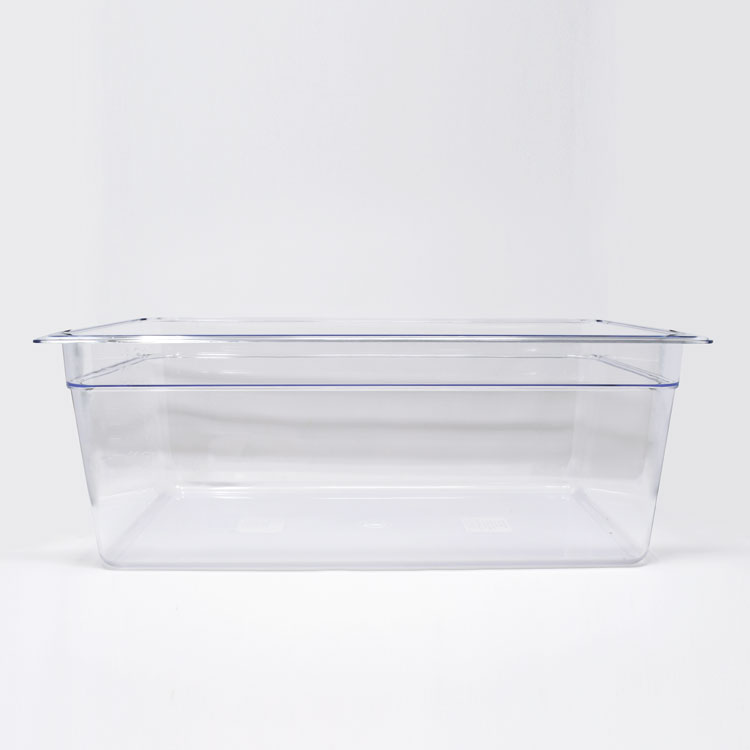 Omcan 80061 handling and storage > food storage containers > polycarbonate clear food pans