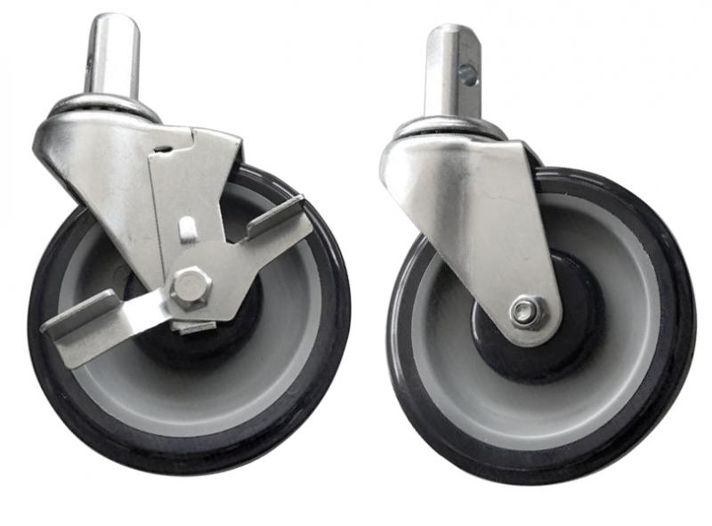 Omcan 28637 handling and storage > casters > bun pan and lug racks casters
