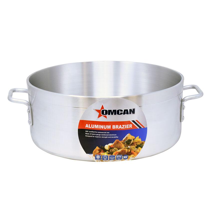 Omcan 80474 smallwares > professional cookware > brazier pans > aluminum brazier pans