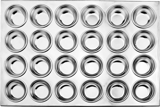 Omcan 80629 smallwares > baking accessories > muffin pans