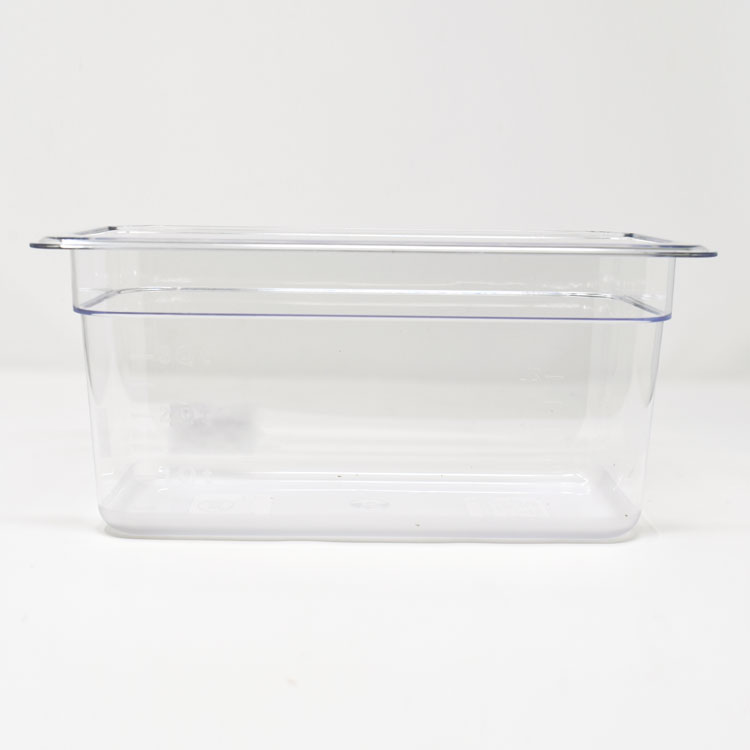 Omcan 80059 handling and storage > food storage containers > polycarbonate clear food pans