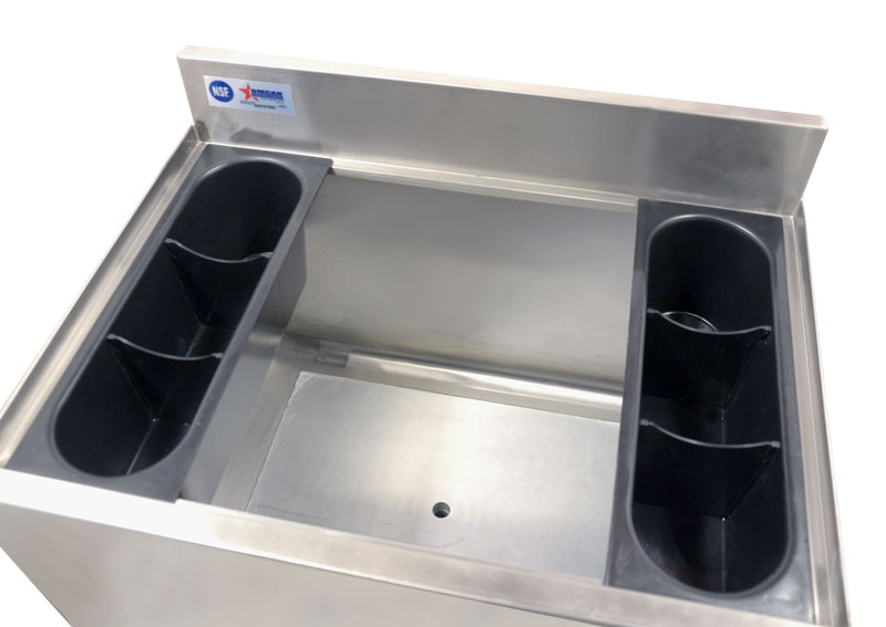 Omcan 43477 tables and sinks > sinks > ice bins and accessories > ice bins|tables and sinks > sinks > ice bins and accessories|tables and sinks > sinks
