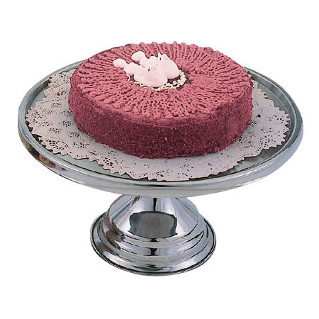 Omcan 80804 smallwares > desserts and pastries > cake stand and cover