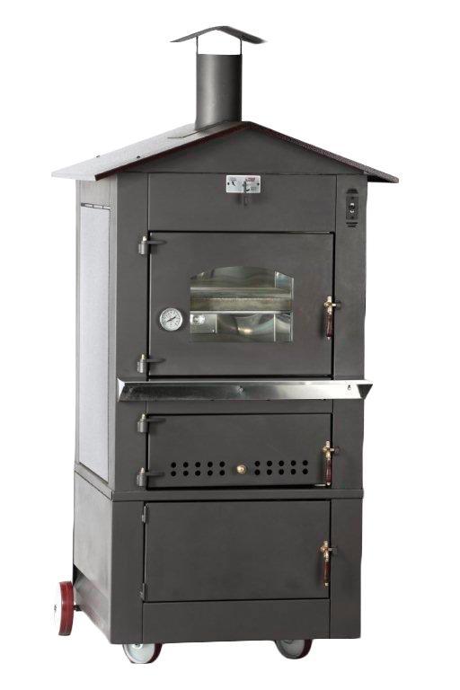 Omcan WOIT0620L food equipment > outdoor cooking equipment > wood burning oven