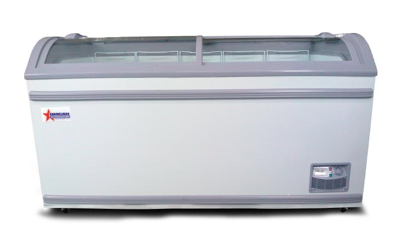 Omcan FR-CN-1473 display chest freezers