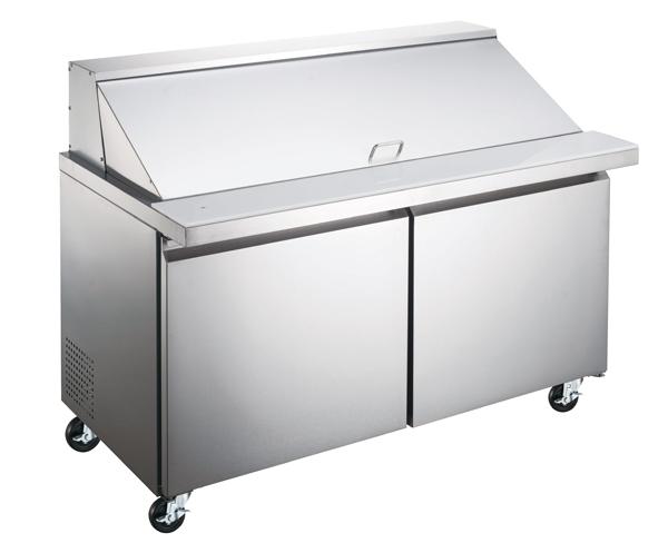 Omcan PT-CN-1537-HC refrigeration > refrigerated prep tables > refrigerated mega-prep tables