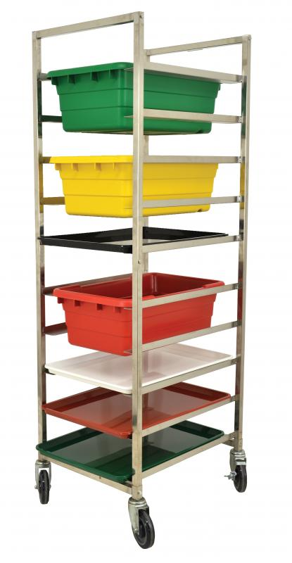 Omcan 27542 handling and storage > racks and shelves > lug racks