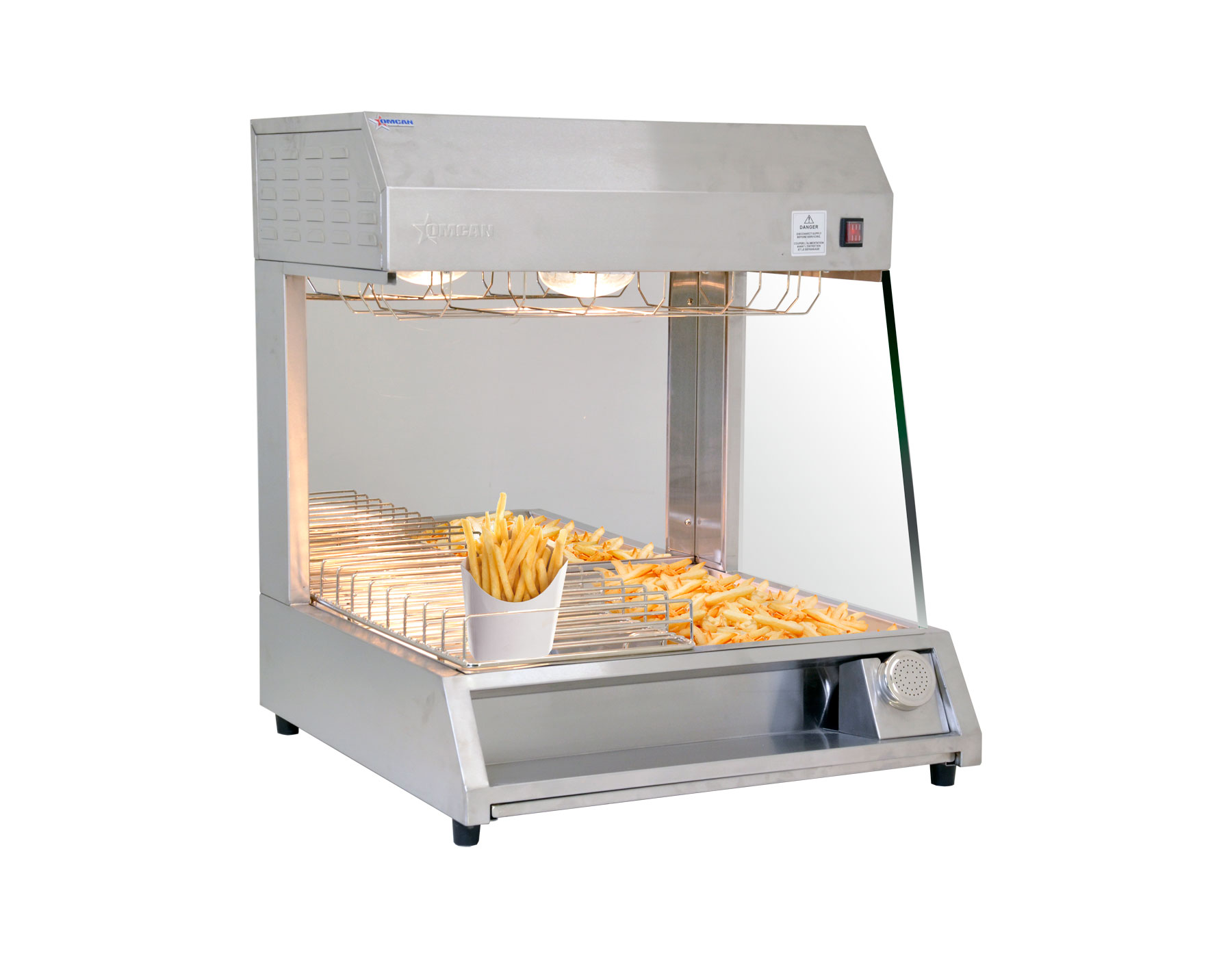 Omcan FWCN0300C food equipment > food warmers > fry crisp station