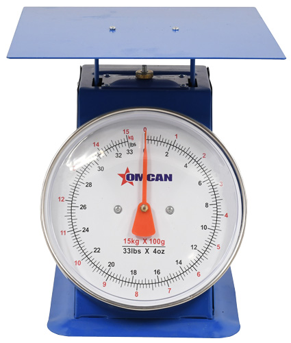 Omcan 46571 dial scales