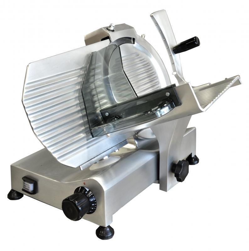Omcan MSIT0250IP food equipment > meat slicers > 10-inch blade slicers