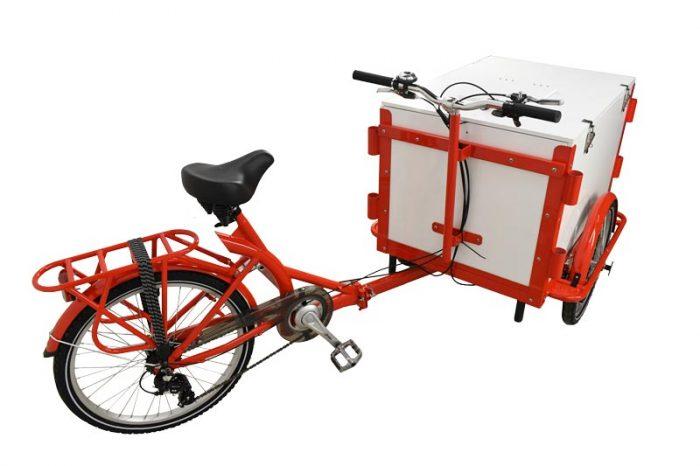 Omcan 46659 merchandising > cargo bike