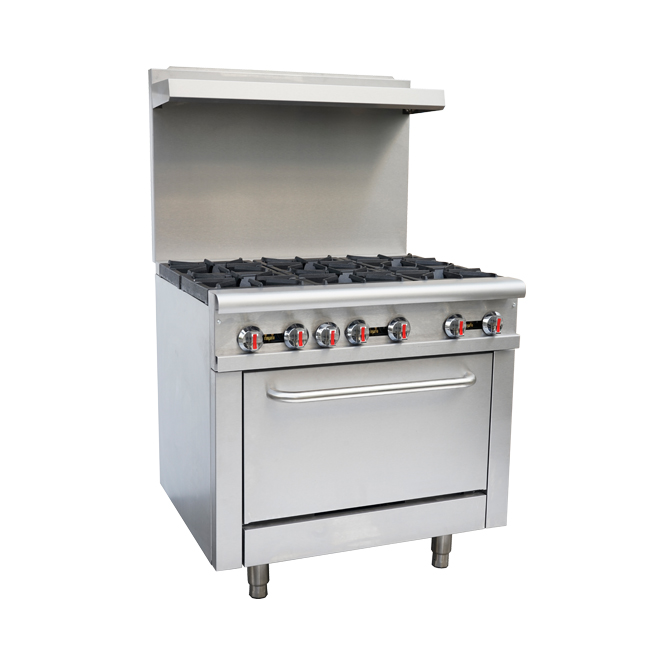 Omcan CECN0914R food equipment > cooking equipment > commercial gas ranges