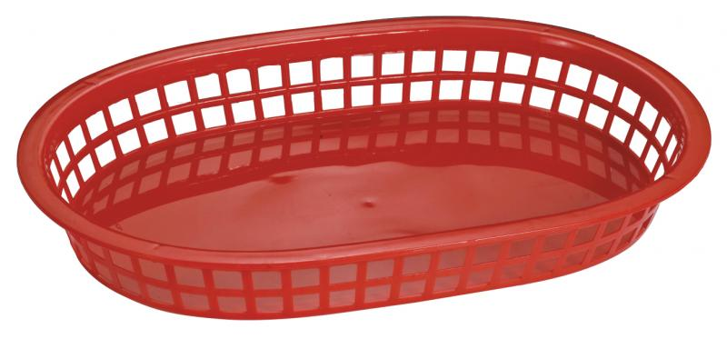 Omcan 80356 smallwares > dining solutions > plastic oval baskets
