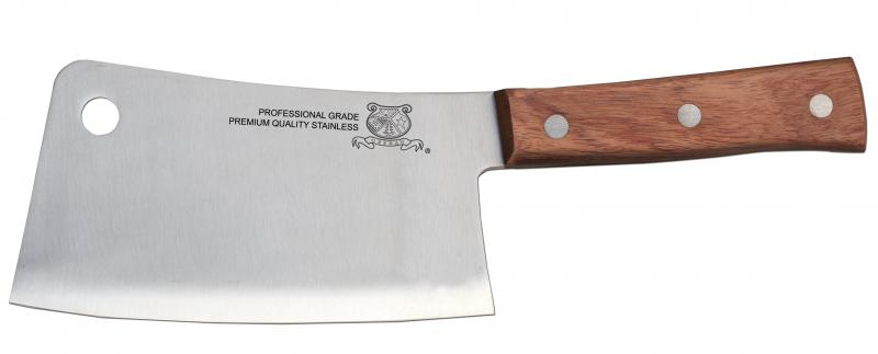 Omcan 10558 knives and accessories > cleavers > cleavers with wooden handle