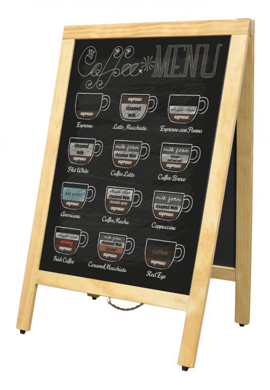 Omcan 31398 merchandising > menu boards