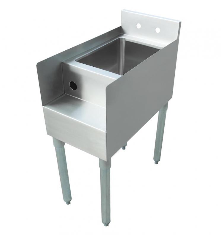 Omcan 43473 tables and sinks > sinks > blender station