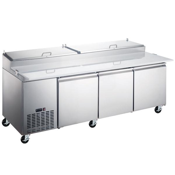 Omcan PT-CN-2337-HC refrigeration > refrigerated prep tables > refrigerated pizza prep tables