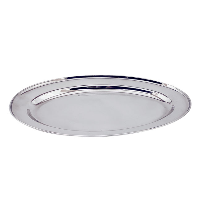 Omcan 80810 smallwares > dining solutions > platters > oval platters