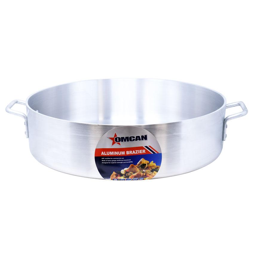 Omcan 80484 smallwares > professional cookware > brazier pans > aluminum brazier pans