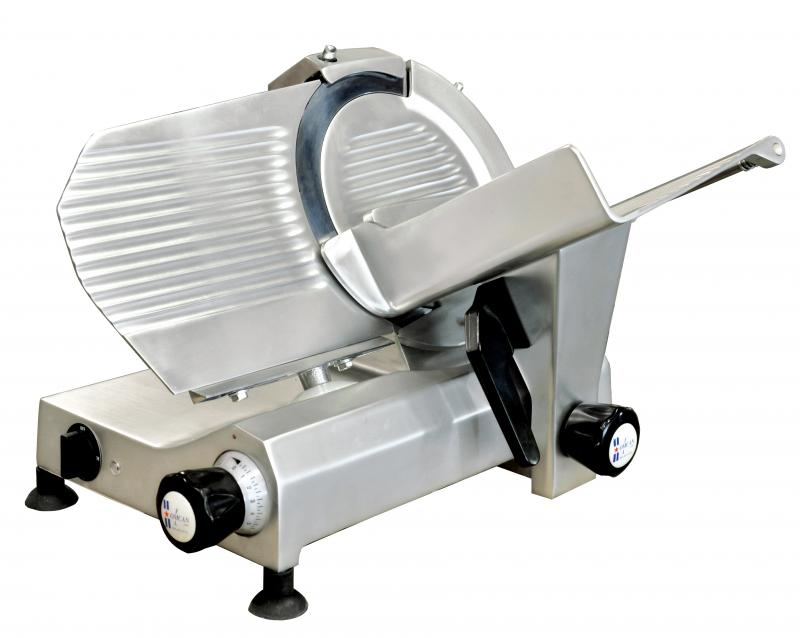 Omcan MSIT0250I food equipment > meat slicers > 10-inch blade slicers
